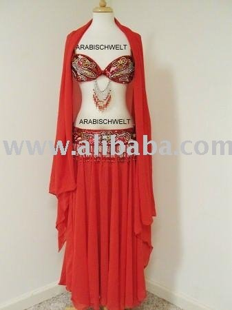 Professional Hand Made Sexy Belly Dance Costume From Egypt