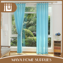 Latest designs standard size home use sheer curtains decor turkey