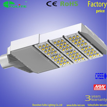 OEM High power COB or SMD meanwell driver bridgelux chip Aluminum body IP65 outdoor led street light 90W 120W 150W 180W