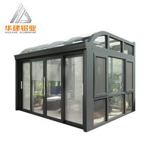 Insulated glass aluminum sunroom , aluminium screen rooms