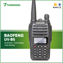 Best VHF UHF Handy Radio Walkie Talkie Baofeng UV-B6 Cheap Price