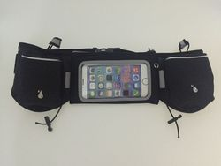 Runner Waist Pack Hydration Running Belt With 2 BPA Free Water Bottles