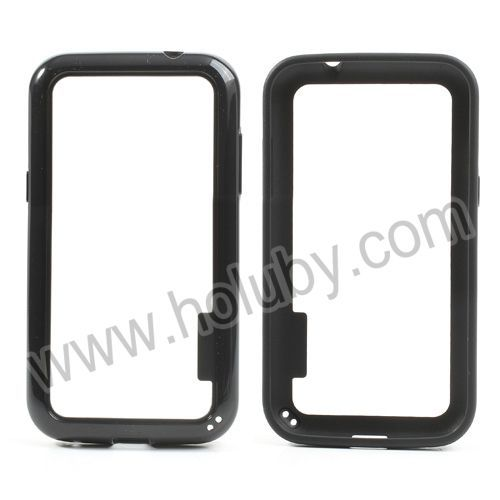 Light Weight Backless PC+TPU Hybrid Bumper Case for Samsung Galaxy Win I8552 I8550