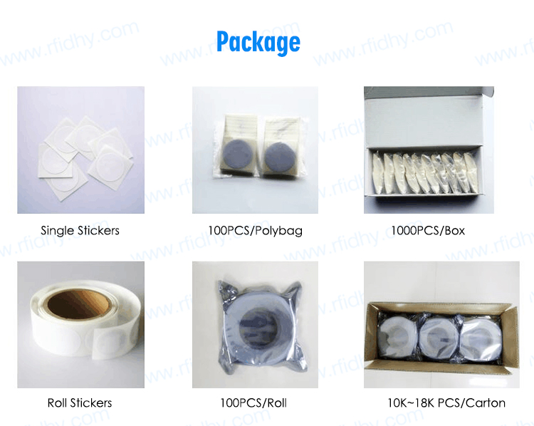 Factory Wholesale Write Protected NFC 215 Tag Roll