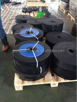 Impact Strength Abrasion Resistance Black Skirtboard Rubber