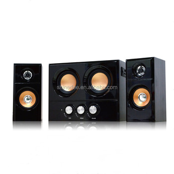 Newest Fashion Subwoofer Home Theatre Multimedia System 2.1 Speaker
