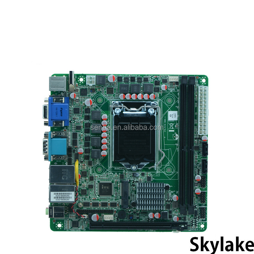 mini itx skylake lga1151 motherboard for ddr4 memory 32GB