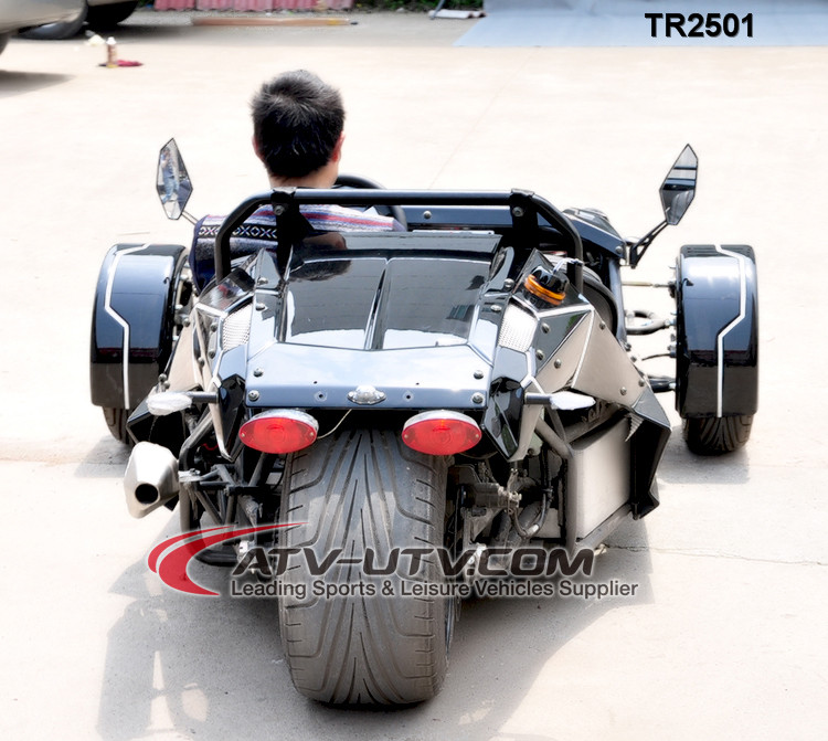 Wonderful Direct Selling 250cc 300cc zongshen Engine Reverse Trike Motorcycles/ZTR/Roadster TR2501 on Sale