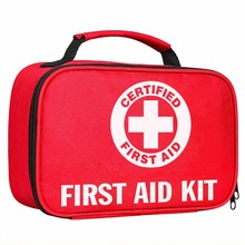 KF437 FDA approved factory wholesale waterproof private label outdoor portable emergency first aid kit contents bags