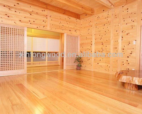 interior t&g paulownia wood boards/log homes