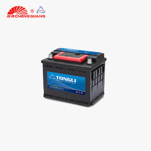 maintenance free battery GW 12v DIN55 car battery recharge battery