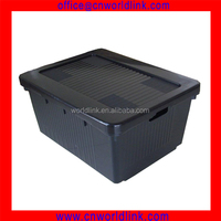 High Quality Plastic Packaging Craft Box With Lid