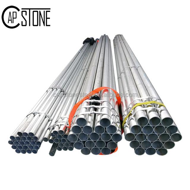 China manufacturer pre galvanized steel pipe steel square tubing