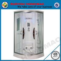China adjustable frame sector cheap shower cubicle price,steam shower room
