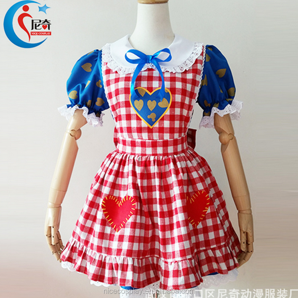 Halloween Cosplay Anime Costume Shirley Bud Dress Stage Show Clothing Stock