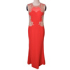 New design red jersey long wholesale evening dresses made in china