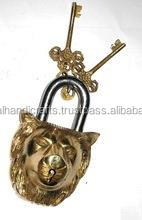 Brass Lion Locks