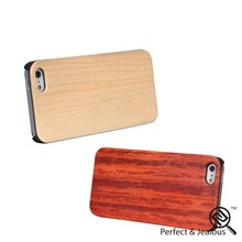 Professional universal Natural wholesale wood mobile phone case for iphone 5