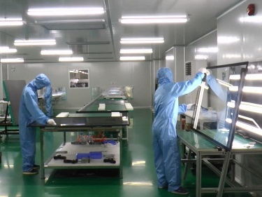 Screen Assembling (Touch Monitor, Touch Frame and Screen)