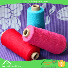 Eco friendly warp and weft yarn fabric yarn for bedsheet