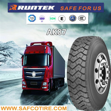 Quality Truck Tires , Trailer Tires 11R22.5 12R22.5 truck tyre size from China