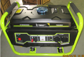 house use 2500W 4 stroke OHV air cooled gasoline generator