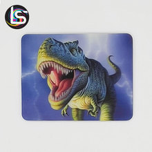 Latest style high quality dinosaur custom souvenir gift 3d picture fridge magnet
