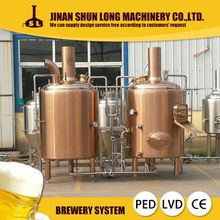 Best choice China supplier turnkey project 500l 1000l 10hl bar fermenting equipment for craft beer brewing