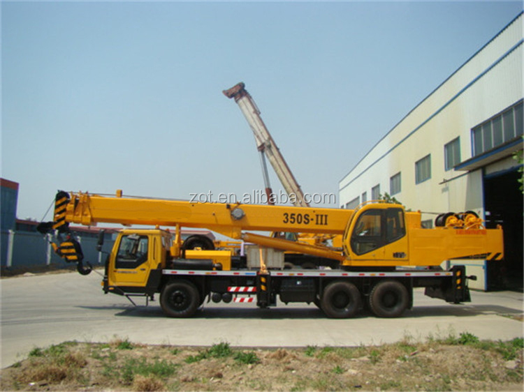 new model QLY35 camion grue/zoomlion 35t mobile truck crane