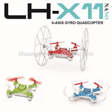 2.4G 4CH 6 axis gyro drone unique rc planes with safety design