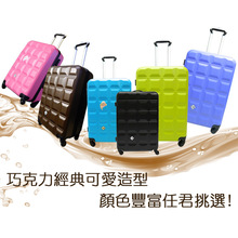 abs hard shell 20''24''28'' luggage colorful luggage