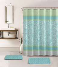 walmart bathroom shower set curtain
