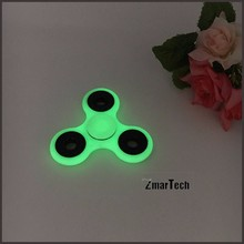 In stock wholesale heap glow in the dark edc spinner toy fidget
