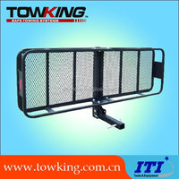hitch mount vehicle cargo carrier car trailer cargo carrier