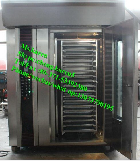 Industrial convection ovens/ 1 trolley 32 trays electric rotary rack oven