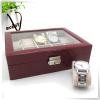 Hot sales black white valentine's day watch box