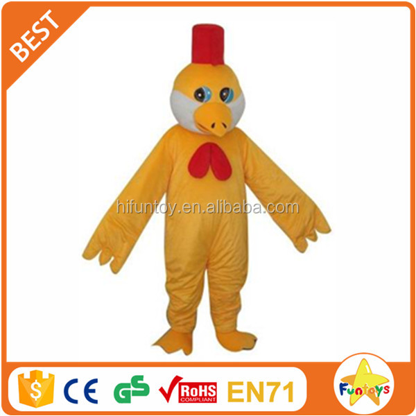 Funtoys CE Simple Christmas Chicken Wing With Red Hat Costume For Adults