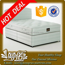 Comfortable knitted fabric dreamland spring mattress