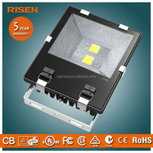 Aluminum IP65 led flood light for leisure sports ground with TUV Certification