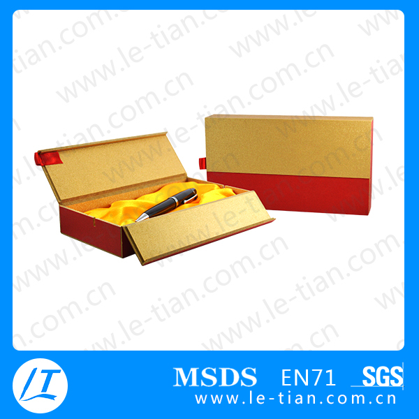 GB-032 OEM Logo Advertising Metal luxury roller pens with gift paper box