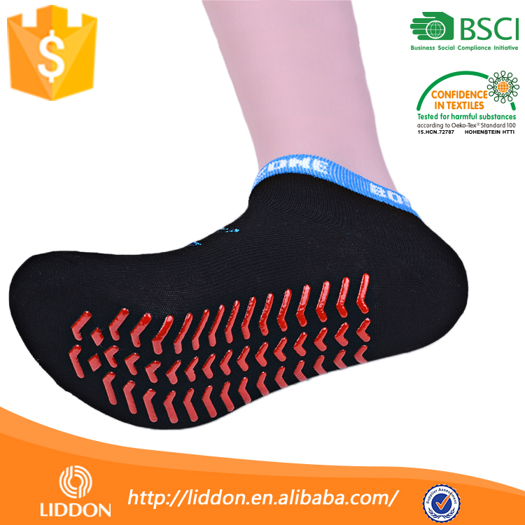 For Adults Man Latex Rubber Sole Non Skid Dots Slipper Sock,Wholesale Indoor Ankle Anti Slip Sock