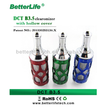 DCT B3.5 cartomizer with patent / elegant hollow metal tip e-cigarette with cartomizer