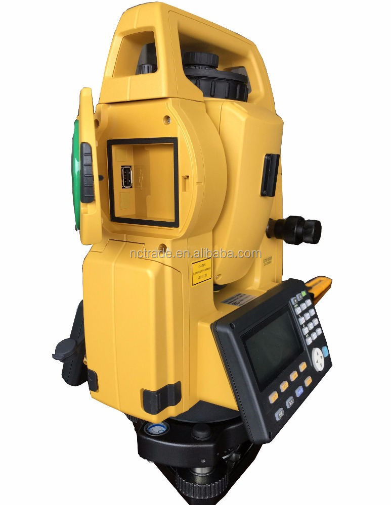 Famous brand topcon gts1002 lowest price reflectorless robotic total station