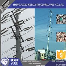Quality galvanized electrical utility pole