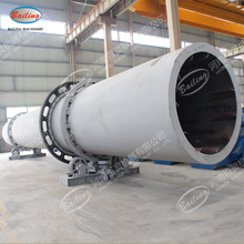 Low consumption cassava dregs rotary dryers