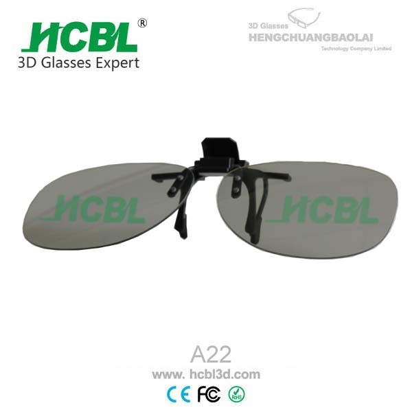 clip on passive 3d glasses for Master Image