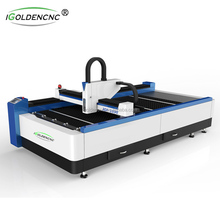 Good quality 500W/1000W sheet metal CNC fiber laser cutting machine for sale