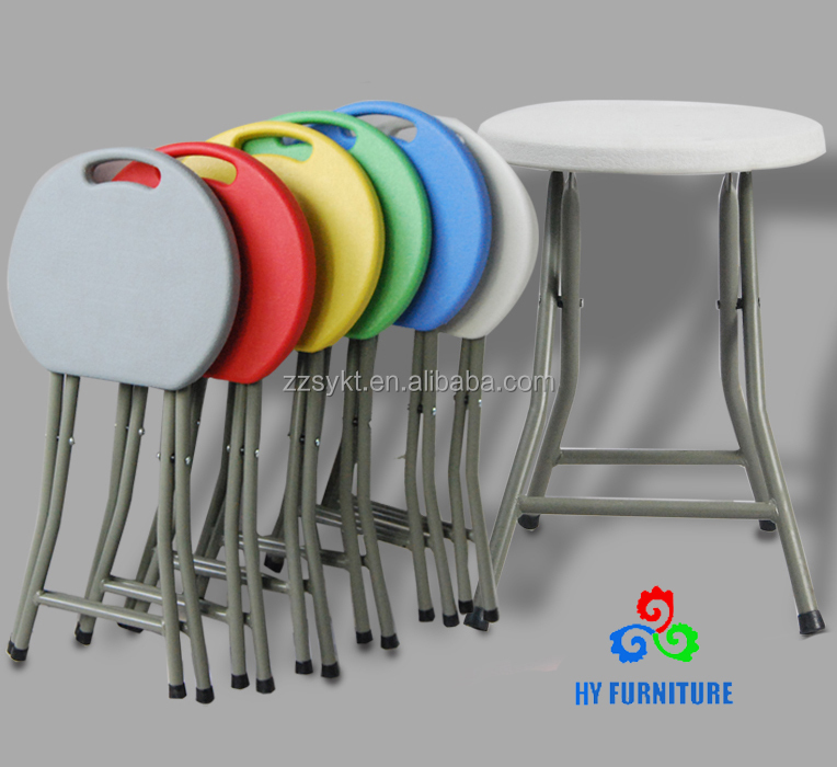 Lightweight plastic indian wedding stools folding travel stools wholesale