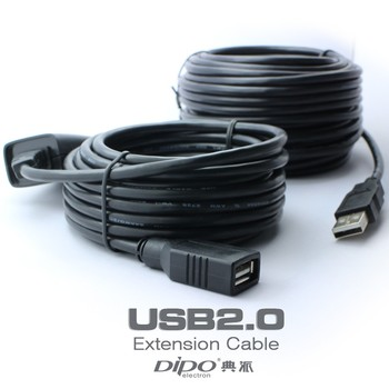 5m usb2.0 extension cable for wireless card devices