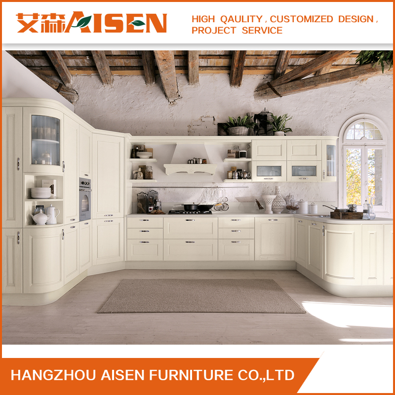 Innovative Products Wholesale Modular Solid Wood kitchen Cabinet Furniture